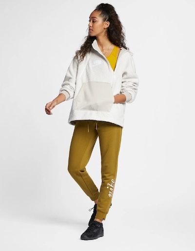 Women's Pullover Sherpa Hoodie