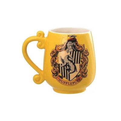 Harry Potter Hufflepuff Crest Ceramic Mug
