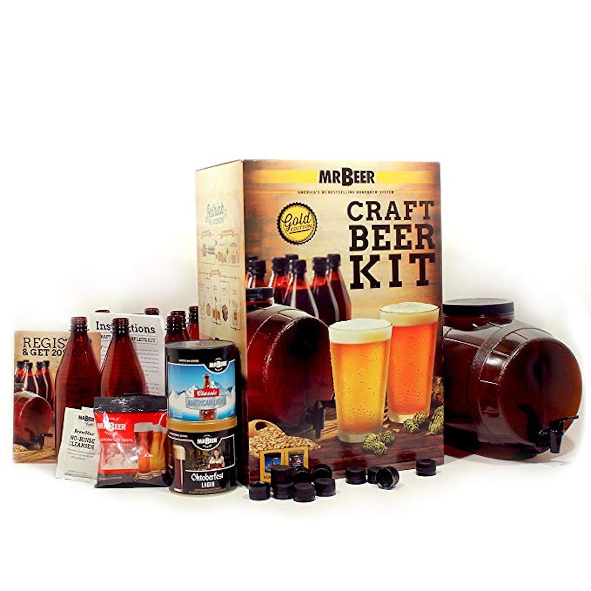 Mr. Beer Premium Gold Edition Craft Making Kit