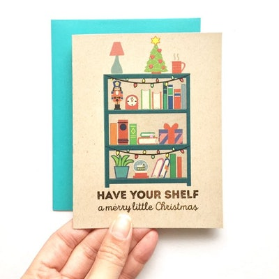 Have Your Shelf A Merry Little Christmas