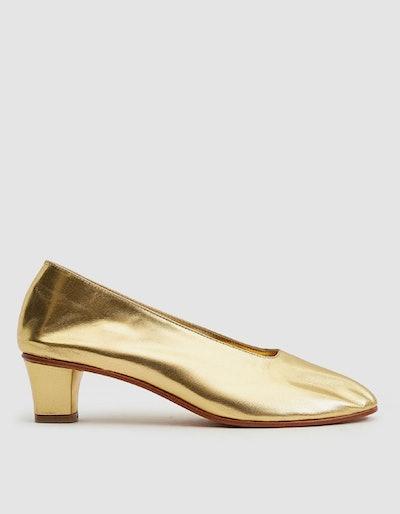 High Glove Heel In Gold