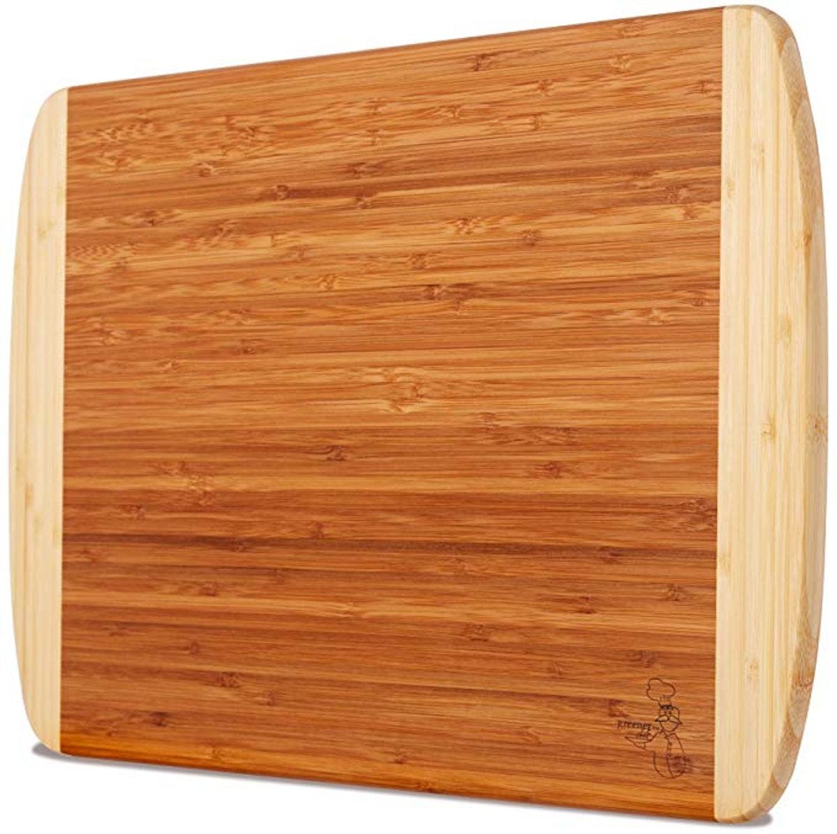 Greener Chef Extra Large Organic Bamboo Cutting Board