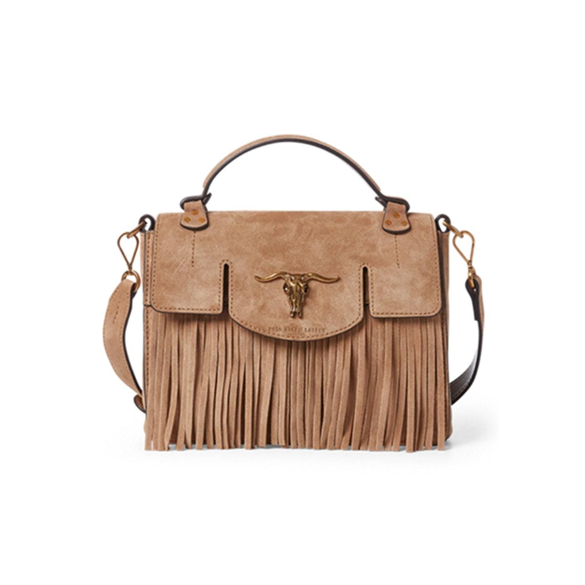 Suede Small Schooly Bag