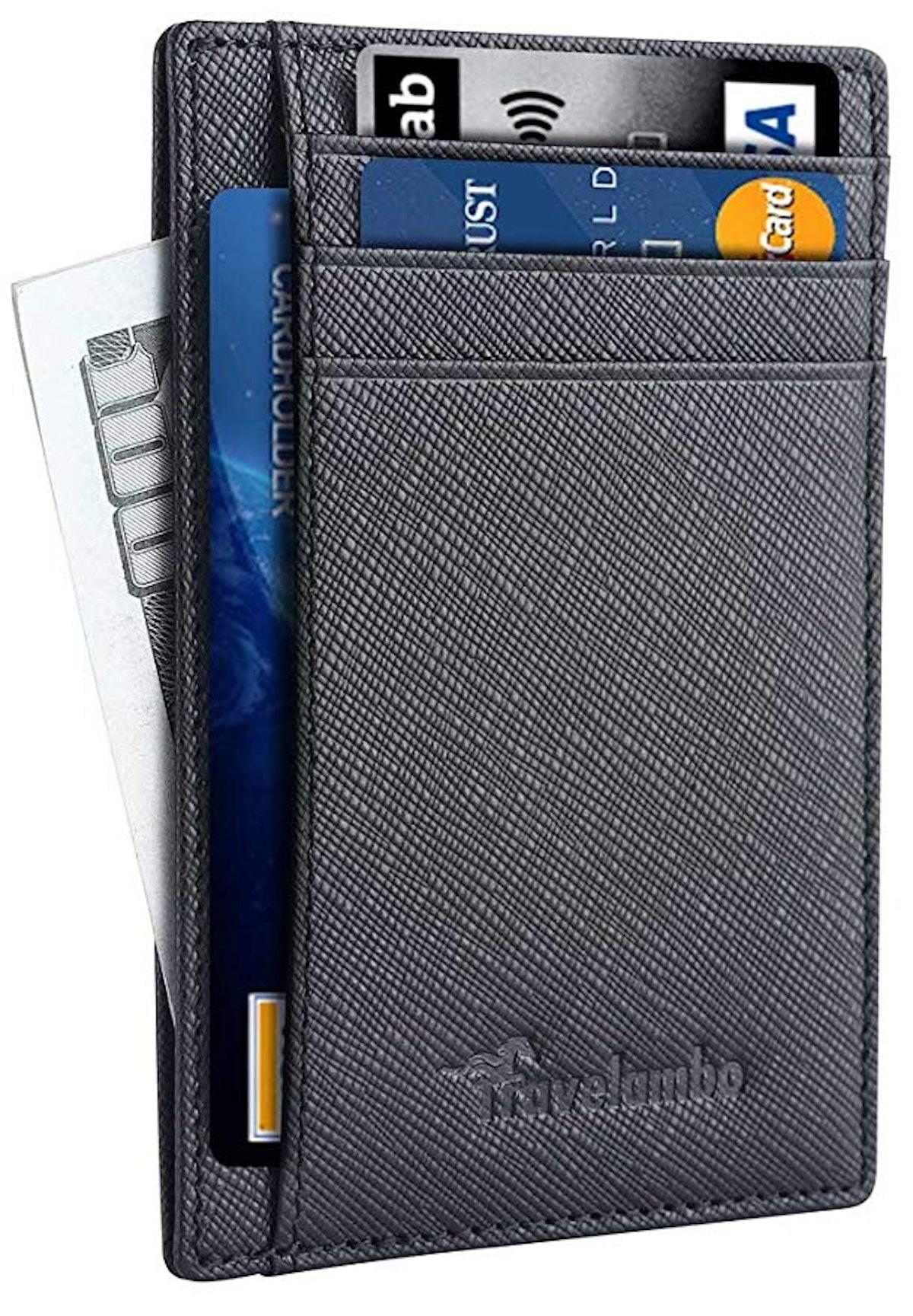 Travelambo Leather RFID Blocking Wallet