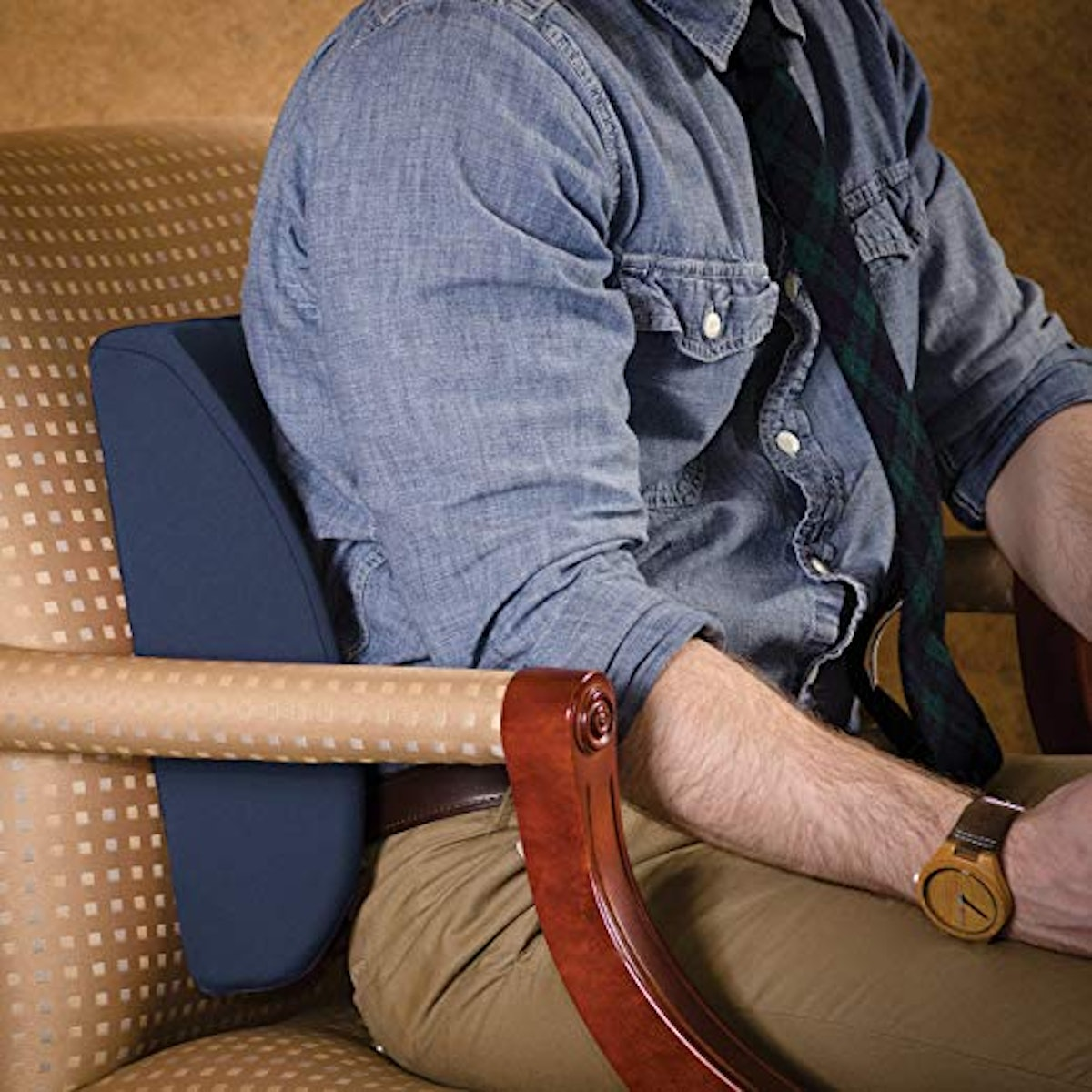 Duro-Med Relax-A-Bac Lumbar Support Pillow