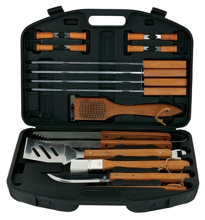 Mr. B-B-Q Stainless Steel Barbecue Set