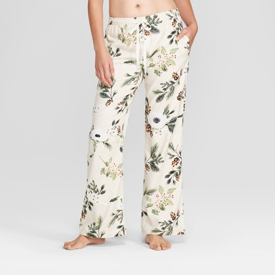 Gilligan & O'Malley Women's Floral Print Flannel Pajama Pant