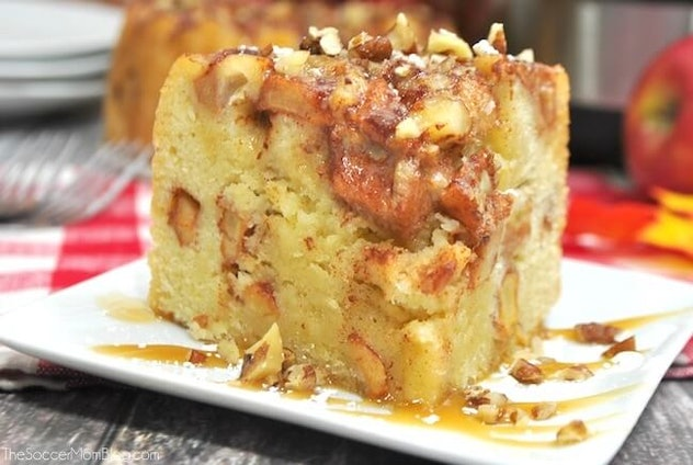 apple cake recipe you can make in an Instant Pot for Thanksgiving dessert