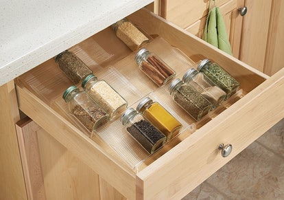 mDesign Adjustable Spice Rack