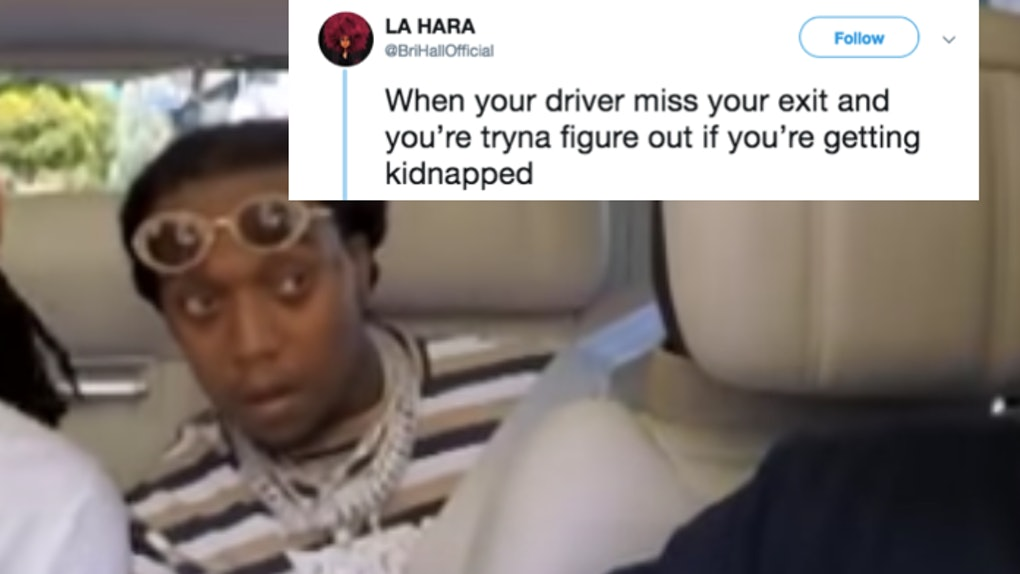 These Memes Of Migos Takeoff On Carpool Karaoke Are Relatable