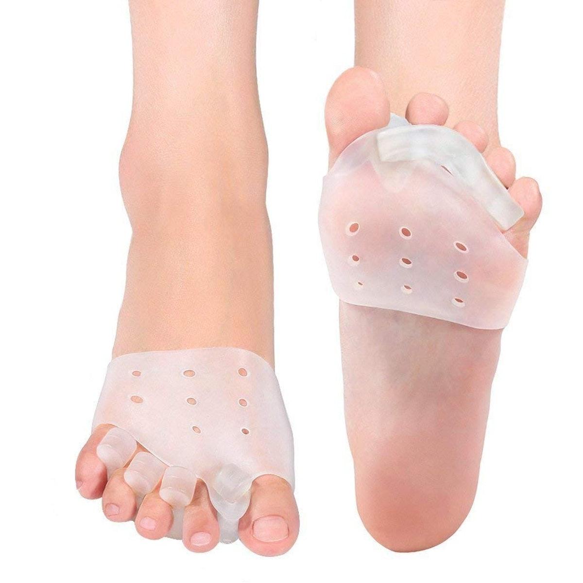 DOACT Gel Toe Separators And Metatarsal Pads Kit