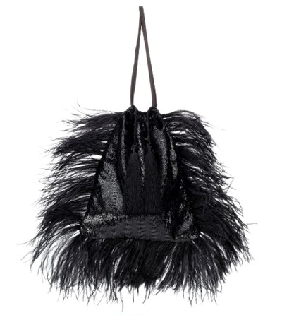 Feathered Pouch