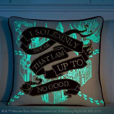 Marauder's Map Pillow Cover