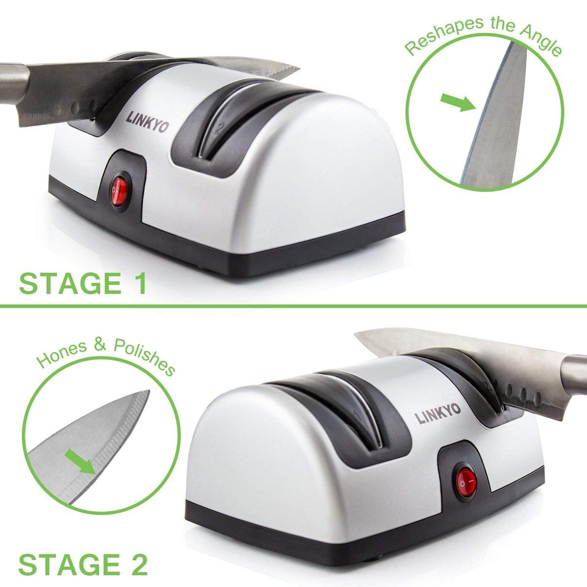 LYNKO Electric Knife Sharpener