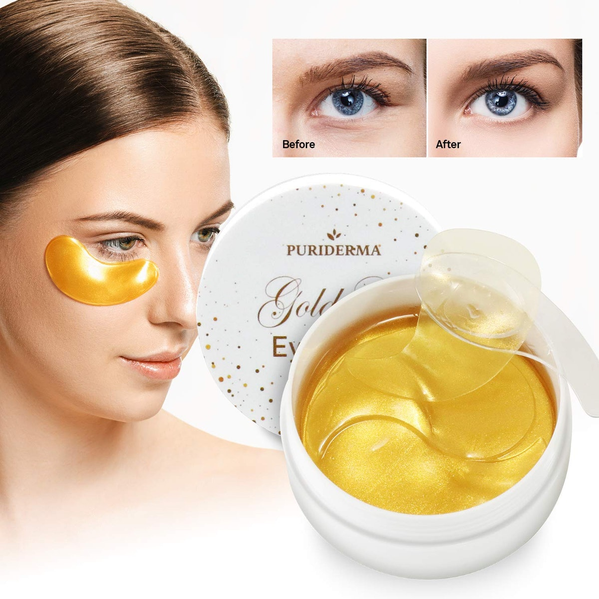Puriderma Gold Gel Eye Masks