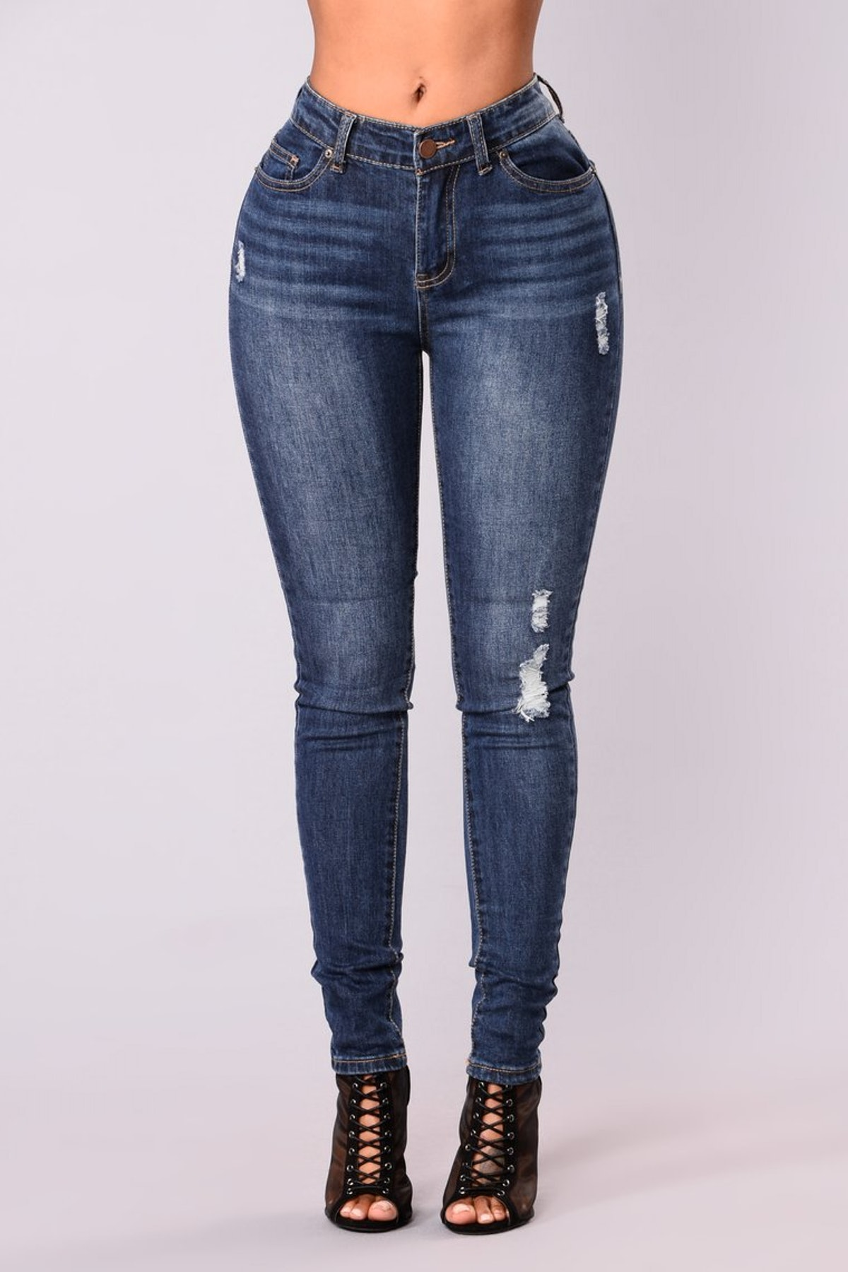 Go Girl Skinny Jeans - Dark