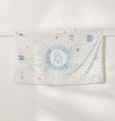 GRL PWR Tapestry