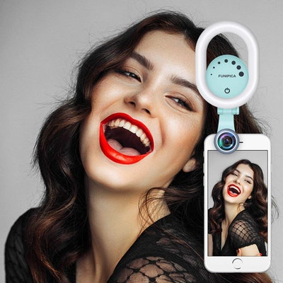 Funipica Wide Angle Selfie Ring Light