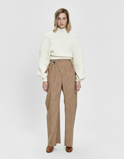 Jil Sander Floyd Plaid Trouser