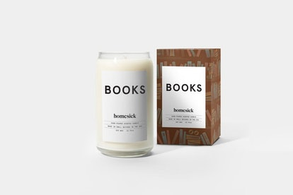 Books Candle