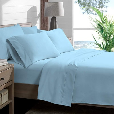 Bare Home Microfiber Cotton Sheet Set