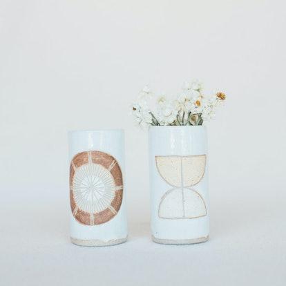 Jen E Ceramics Bud Vase