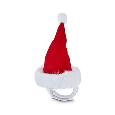 Holiday Tails Santa Claws Small Animal Hat, Standard