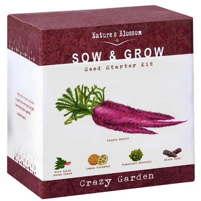 Nature's Blossom Exotic Vegetables Grow Kit
