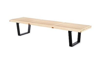 "Nelson Platform Bench, 48"", Maple"