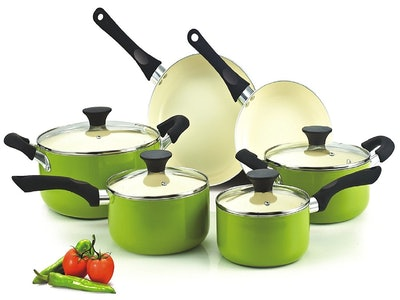 Cook 'n Home Cookware Set (Set of 10)