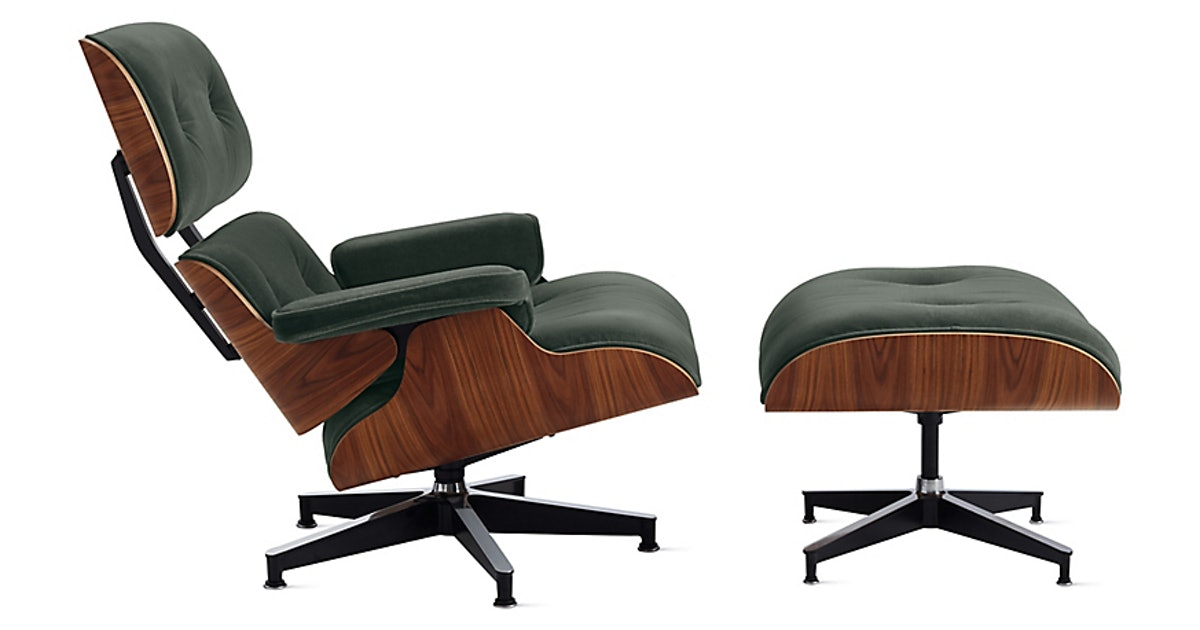 Surprising Eames Lounge Chair And Ottoman Creativecarmelina Interior Chair Design Creativecarmelinacom