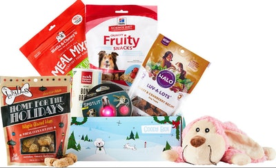 Goody Box Holiday for Dogs By Goody Box
