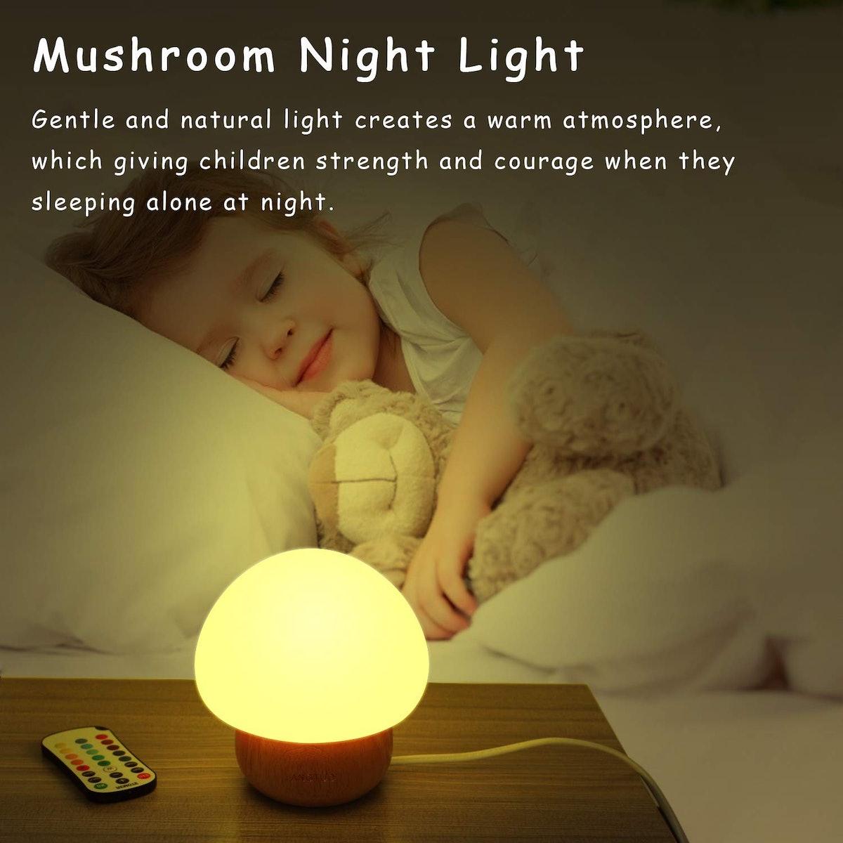 ANGTUO LED Mushroom Night Light