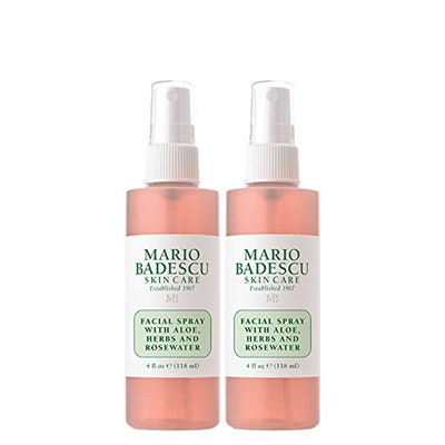 Mario Badescu Facial Spray With Aloe Herbs And Rosewater (2 Pack)