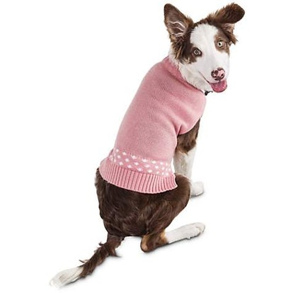 Pink Dog Sweater