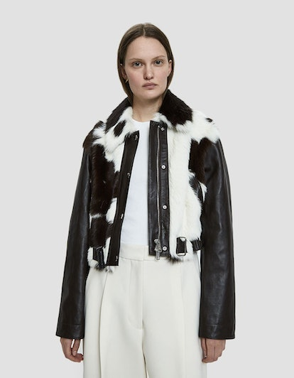 3.1 Phillip Lim Short Cowhide Jacket