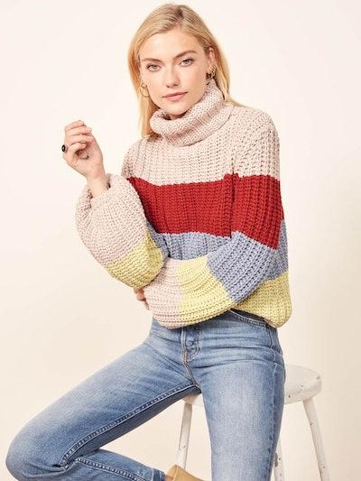 La Ligne X Reformation Color Me Happy Sweater