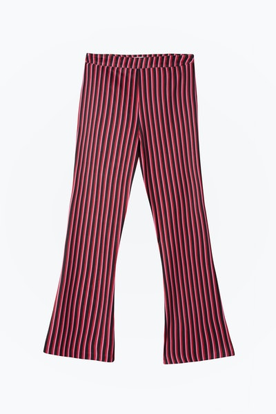 Rocky – Two Stripe Flared Cropped Trouser