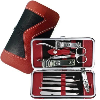 Beauty Bon 10 Piece Stainless Steel Manicure Kit