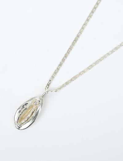 Tuza Sterling Silver Vagina Necklace