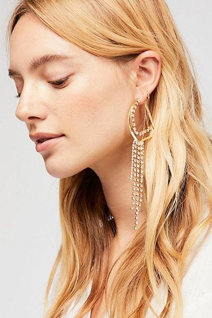 Jasper Asymmetric Earrings