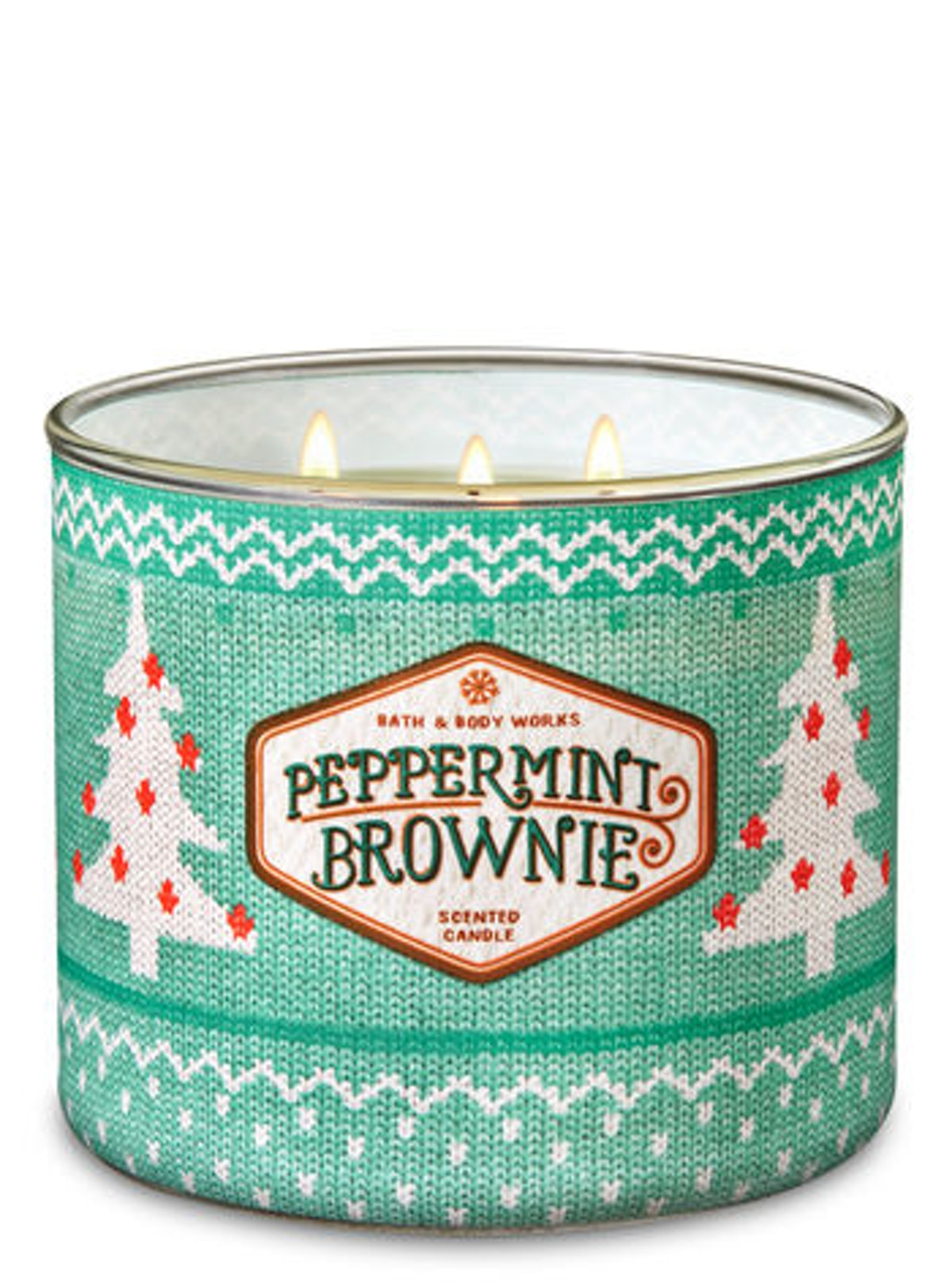 Peppermint Brownie 3-Wick Candle