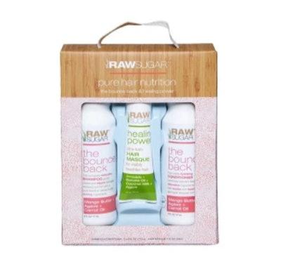 Raw Sugar Hair Care Trio Gift Set