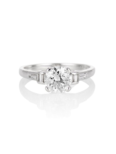 The Emile Solitaire Ring