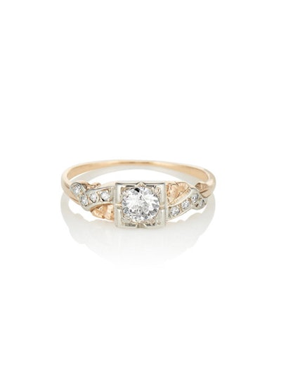 The Delilah Solitaire Ring