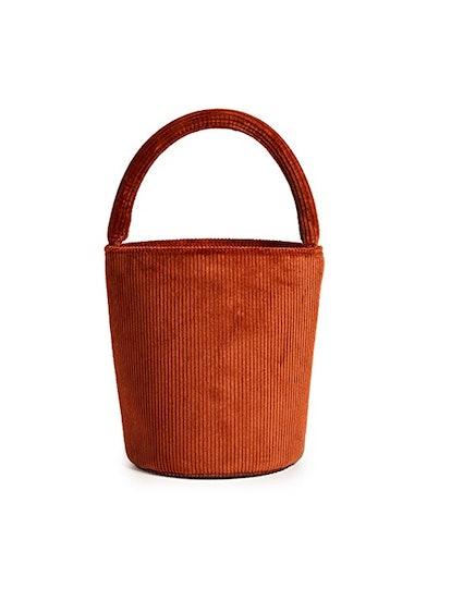 Lea Drawstring Bucket Bag