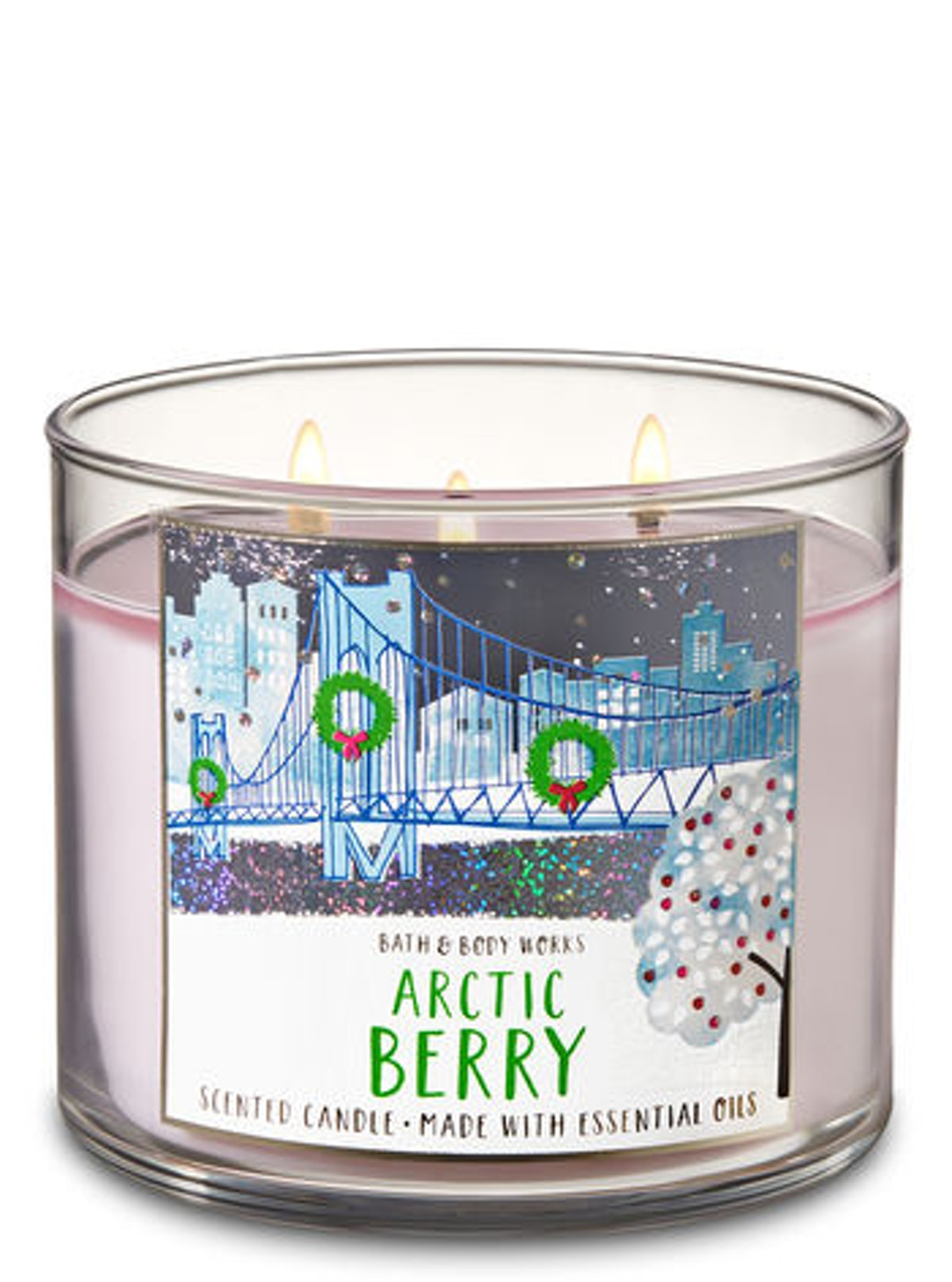Arctic Berry 3-Wick Candle