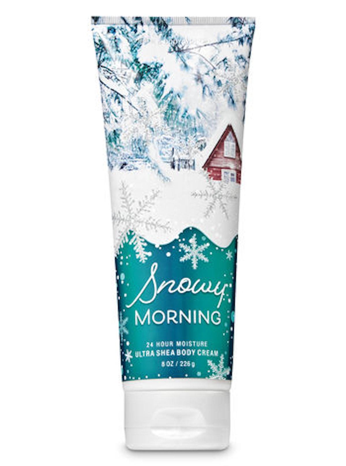 Snowy Morning Ultra Shea Body Cream