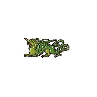 Ripley Scroll Dragon Enamel Pin