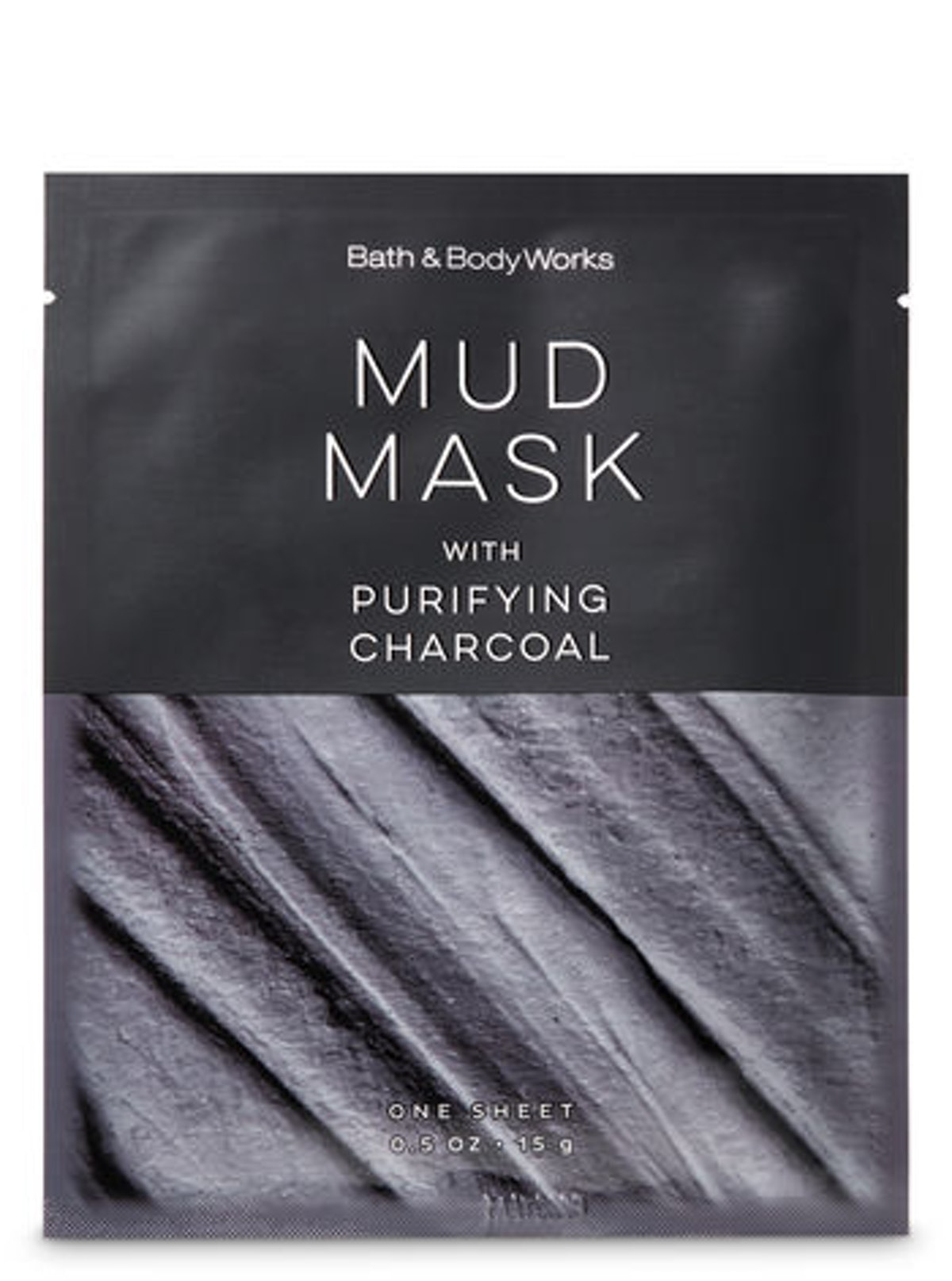 Mud Mask With Purifying Charcoal